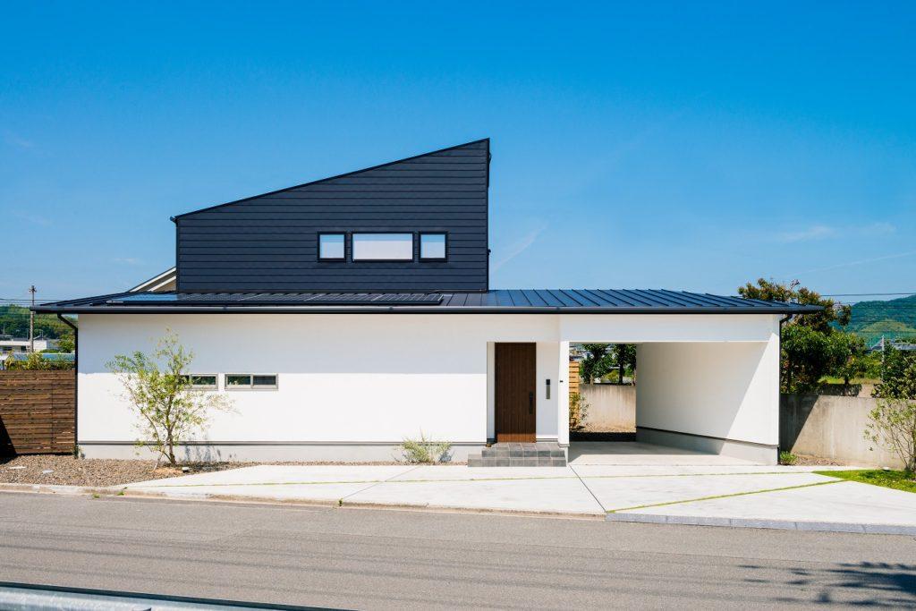 空間の変化を楽しむ家